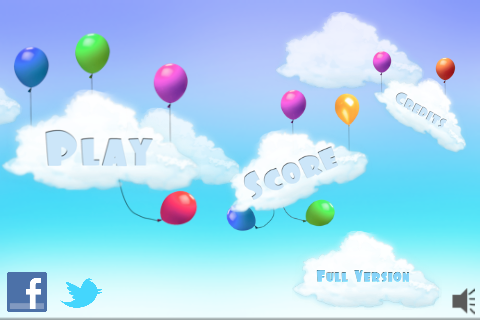 Screenshot Balloon Blast Free